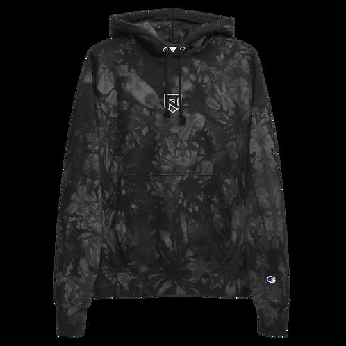 Resurge Embroidered Unisex Champion tie-dye hoodie