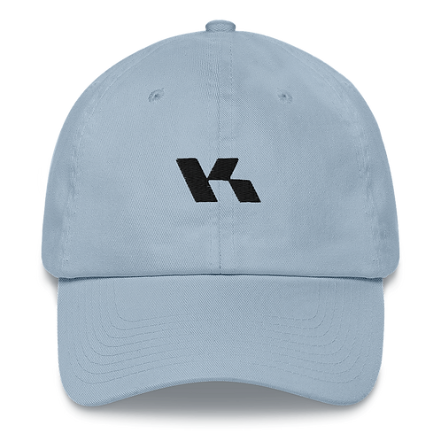Kazzop Embroidered Light Blue Dad hat copy