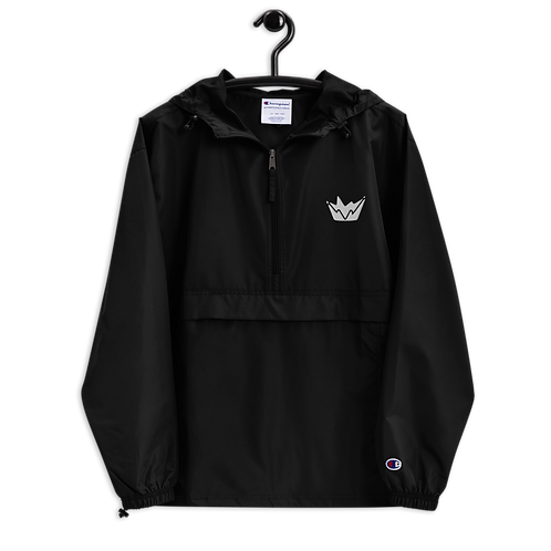 Talent Logo Embroidered Champion Packable Jacket