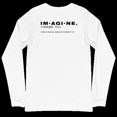 Imagine Unisex Long Sleeve Tee