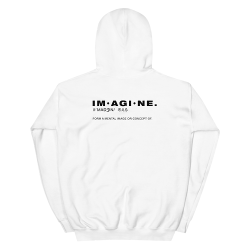 Imagine Unisex Hoodie
