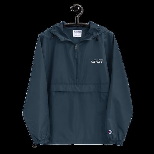 Embroidered Split Champion Packable Jacket
