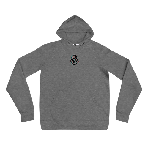 Spectral Glitched Unisex hoodie