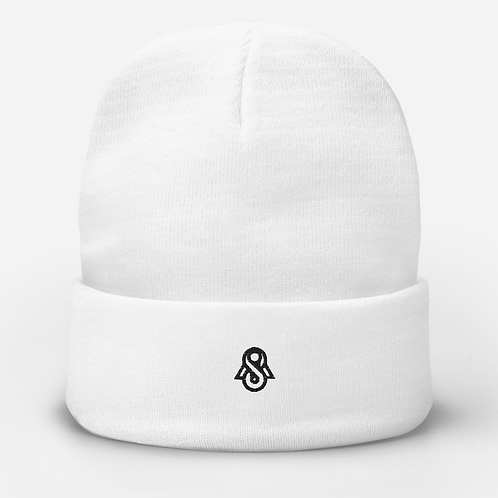 Spectral Embroidered Beanie