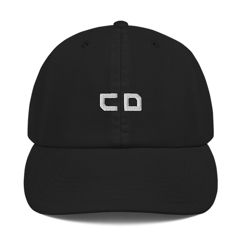 CD Embroidered Champion Dad Cap