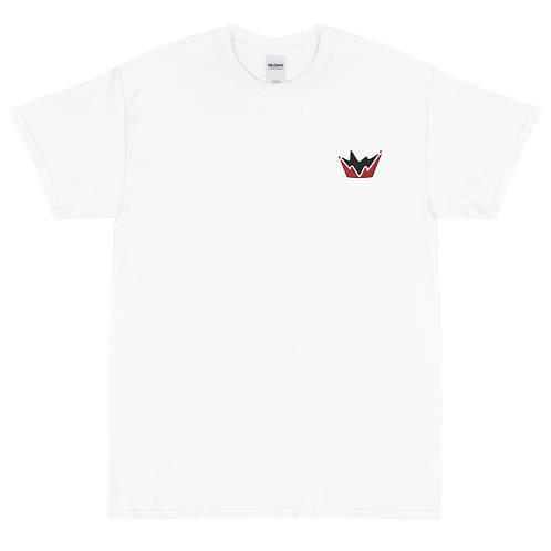 Talent Red & Black Logo Embroidered Short Sleeve T-Shirt