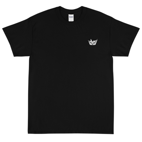 Talent Logo Embroidered Short Sleeve T-Shirt