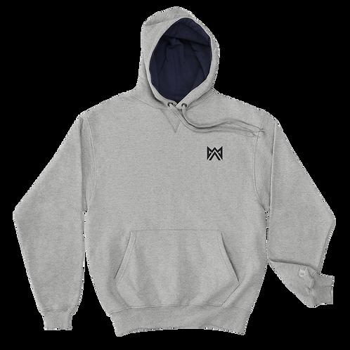 Mayhem Black Logo Embroidered Champion Hoodie