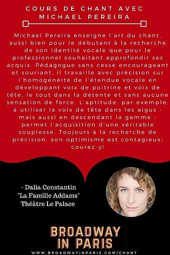 Dalia Constantin Famille Addams