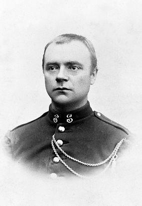 Anton Dalseg, musikkfanejunker, f. 2