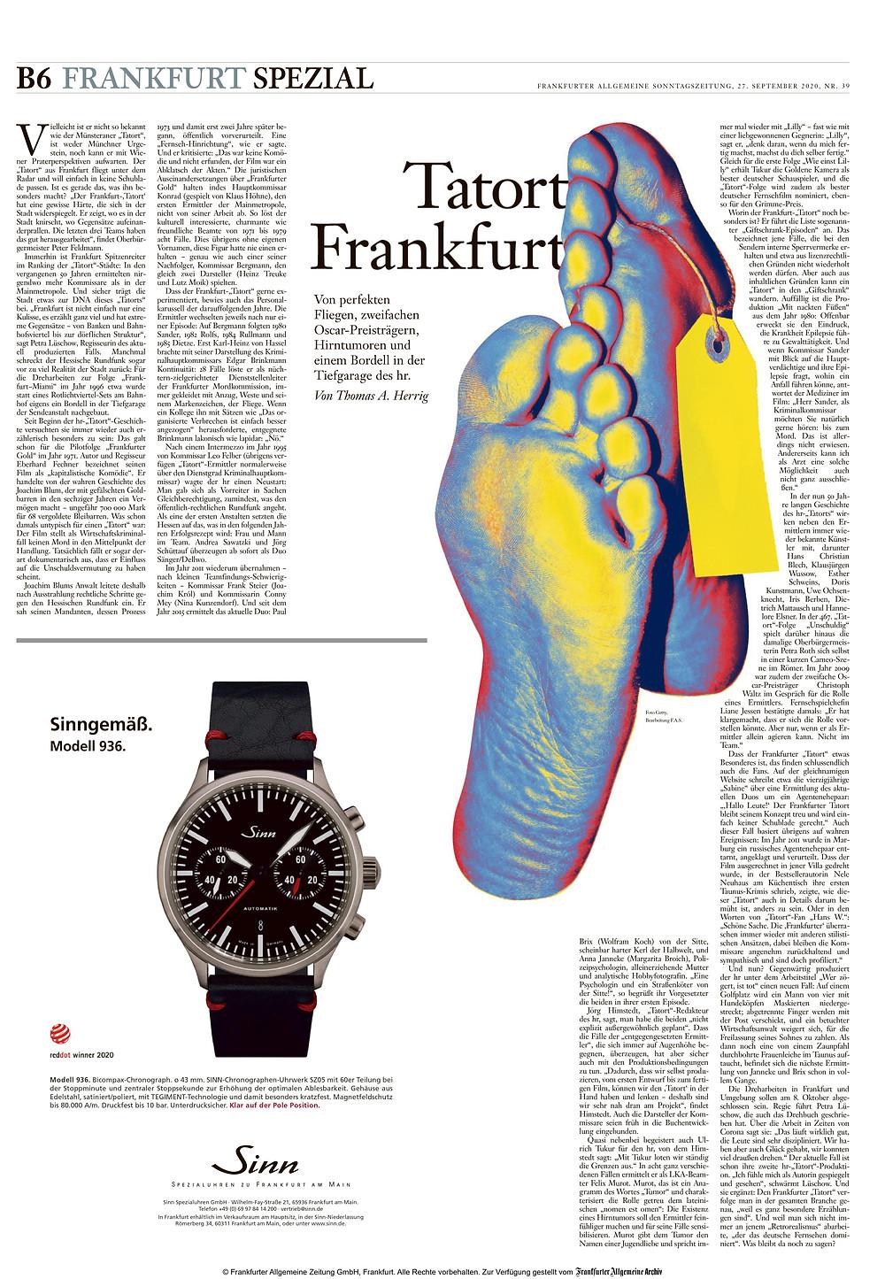 Tatort Frankfurt (von Thomas A. Herrig)