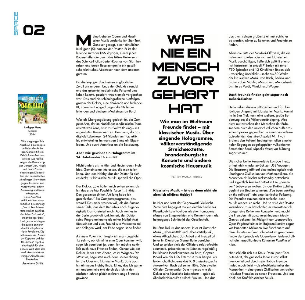 Belonging Magazin Universität der Künste Artikel Thomas A. Herrig
