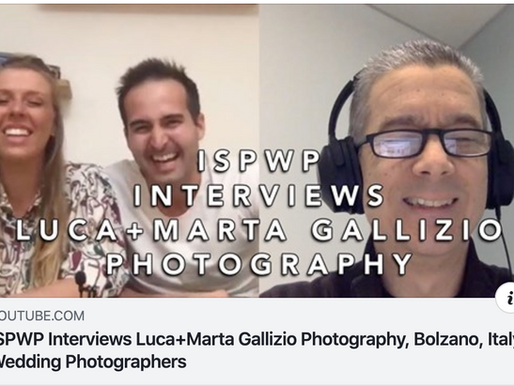Intervista Live su ISPWP International Society of Professional Wedding Photographers