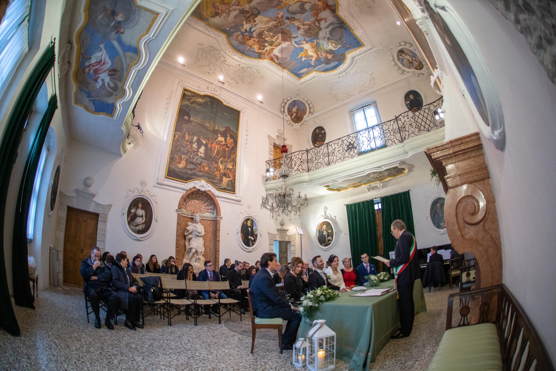 Fotografo matrimonio Trento, Villa de Mersi, Villazzano