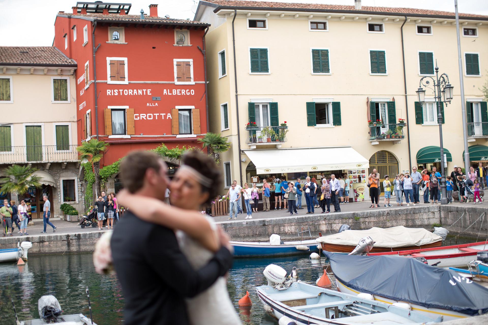 Fotografo matrimonio Lago di Garda