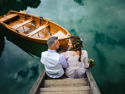 Ilaria e William - Couple Portraits - Lago di Braies