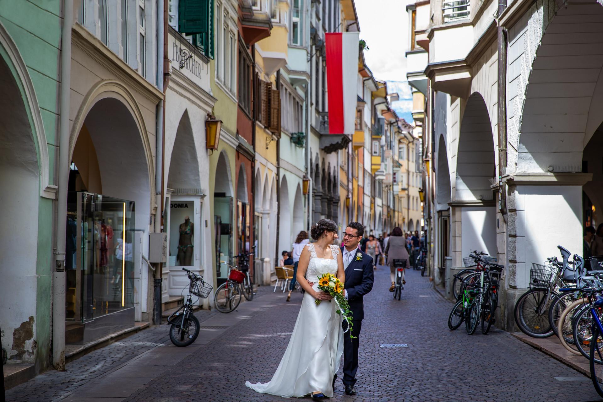 Fotografo matrimonio Bolzano, Location ricevimento Pinzonerkeller