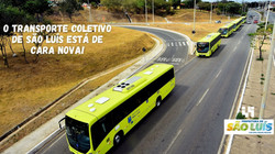 Ônibus novos e com ar condicionado!