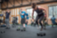Crossfit Surbiton, burpees