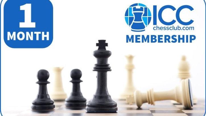 ICC one month Membership