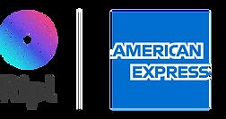 Ripl and Amex logos