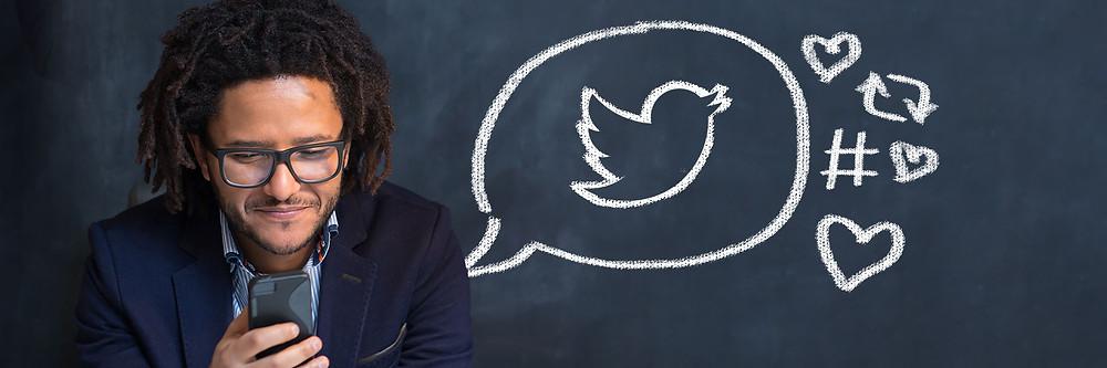 twitter on blackboard
