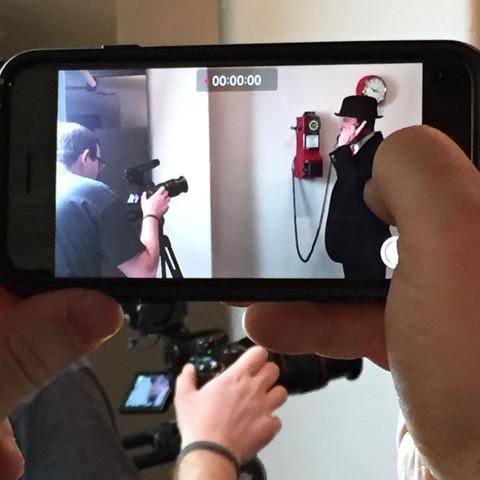 Video Shoot : Behind the Scenes