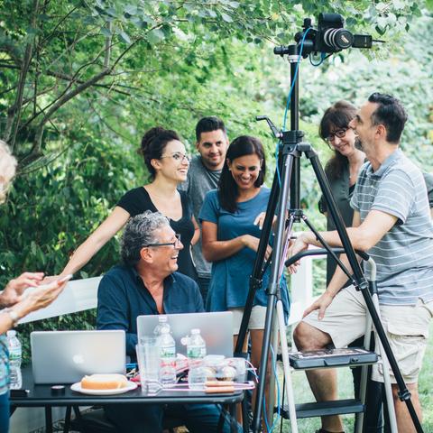 Photoshoot : Behind the Scenes