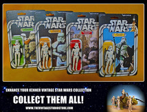 Sandtrooper carded collection