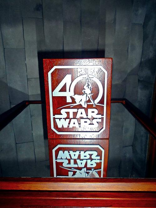 STAR WARS 40 ANNIVERSARY´S COMMEMORATIVE COLLECTOR'S BOX
