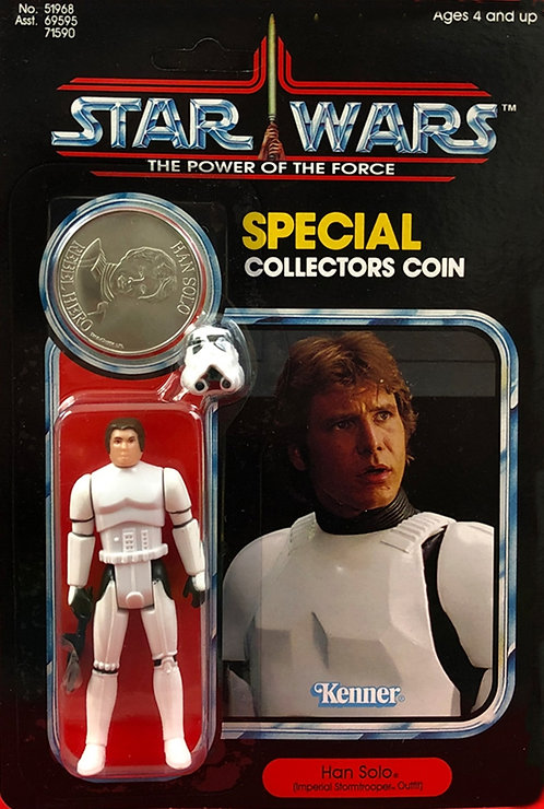 HAN SOLO (Imperial Stormtrooper Outfit) CARDED POTF VERSION