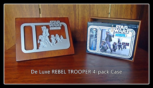 REBEL TROOPER 4 - PACK DELUXE COLLECTOR'S BOX