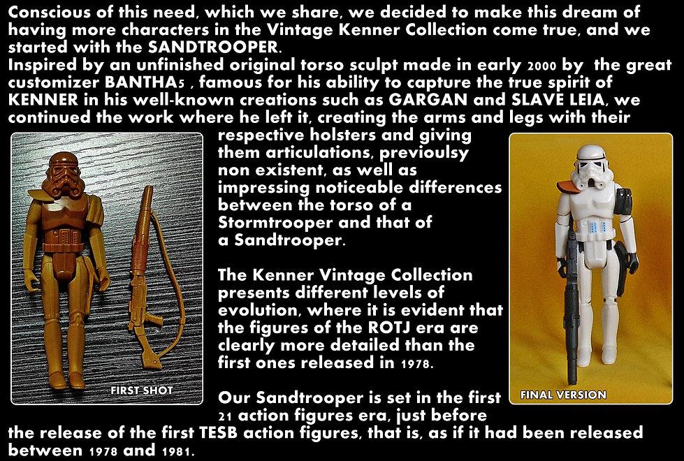 THE VINTAGE STUDIO VADER TRADER STORE vintage custom KENNER STAR WARS action figures rebel trooper vintage custom star wars action figures