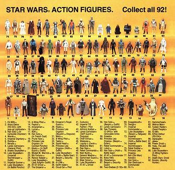 THE VINTAGE STUDIO   vintage custom star wars action figures sandtrooper - stormtrooper showroom display