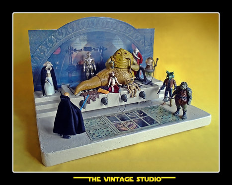 Jabba the Hutt´s Throne Room Playset Environment