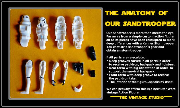 Vintage SANDTROOPER from THE VINTAGE STUDIO