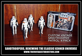 IN THE SHELVES! SANDTROOPER PATROL 4-PACK