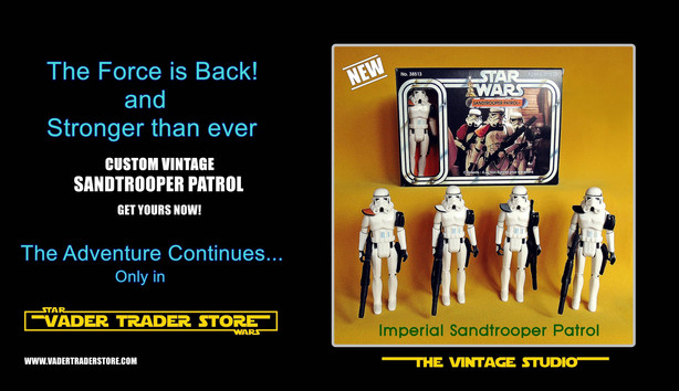 SANDTROOPER PATROL 4 PACK IS HERE!