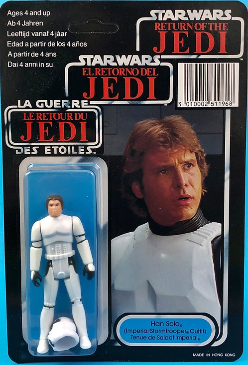 HAN SOLO (Imperial Stormtrooper Outfit) CARDED TRILOGO VERSION
