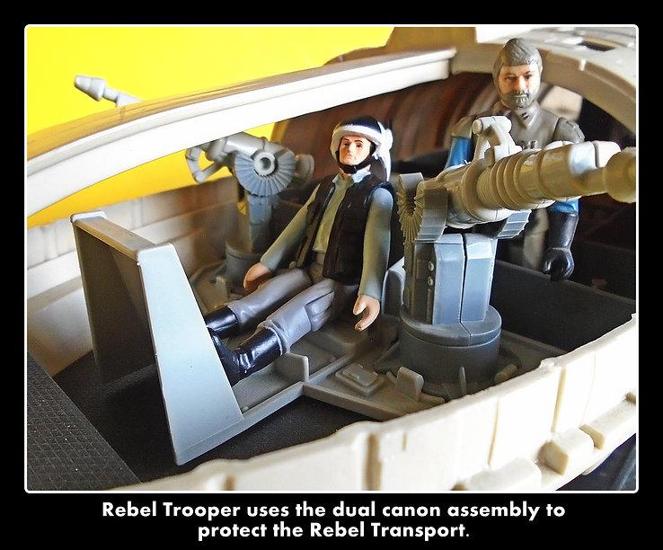 REBEL TROOPER-Rebel transport vintage custom star wars action figures