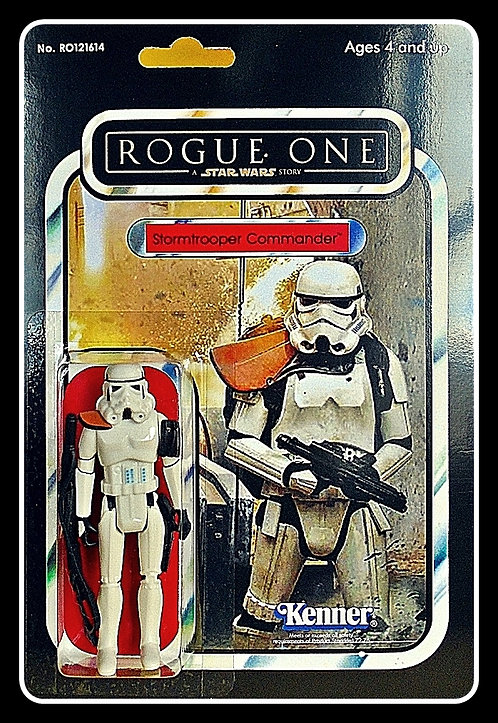 ROGUE ONE STORMTROOPER COMMANDER CARDED