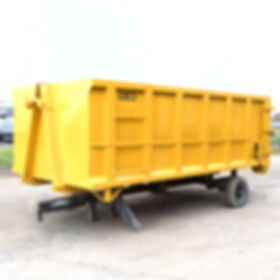 HILARK Roll-Off Dumpster Container