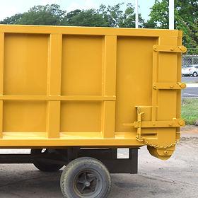 HILARK Material Roll-Off Dumpster Contaner
