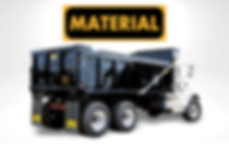 HilBilt Material Dump Body manufactured by HilArk Industries