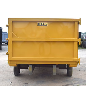 HILARK Material Roll-Off Dumpster Container