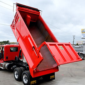 Mogoose Dump Body shown with optiona Hi-Lift Combo