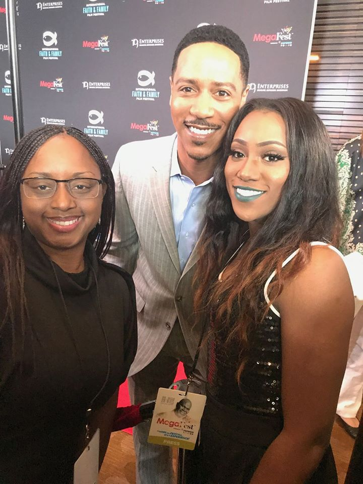 Lakeba Wallace, Brian White & Previous Thornton at MegaFest 2017
