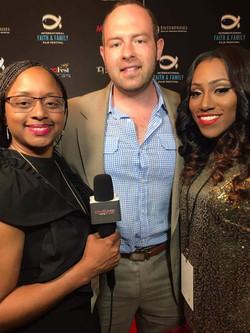 Lakeba Wallace, Dr. Chris Hock & Precious Thornton at MegaFest 2017