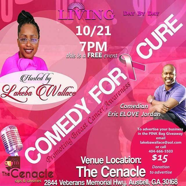 COMEDY For A Cure Event