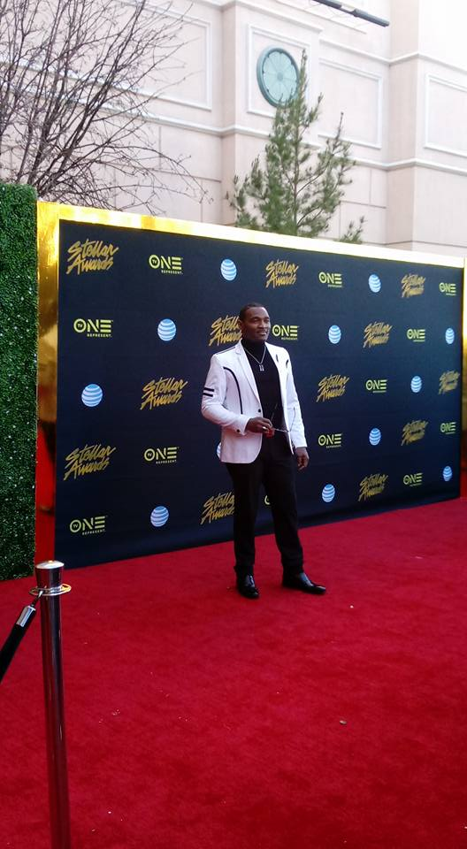 Earnest Pugh on the Red Carpet